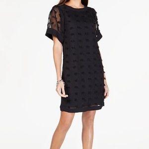Alfani Textured Dot Dress size 14P (5)